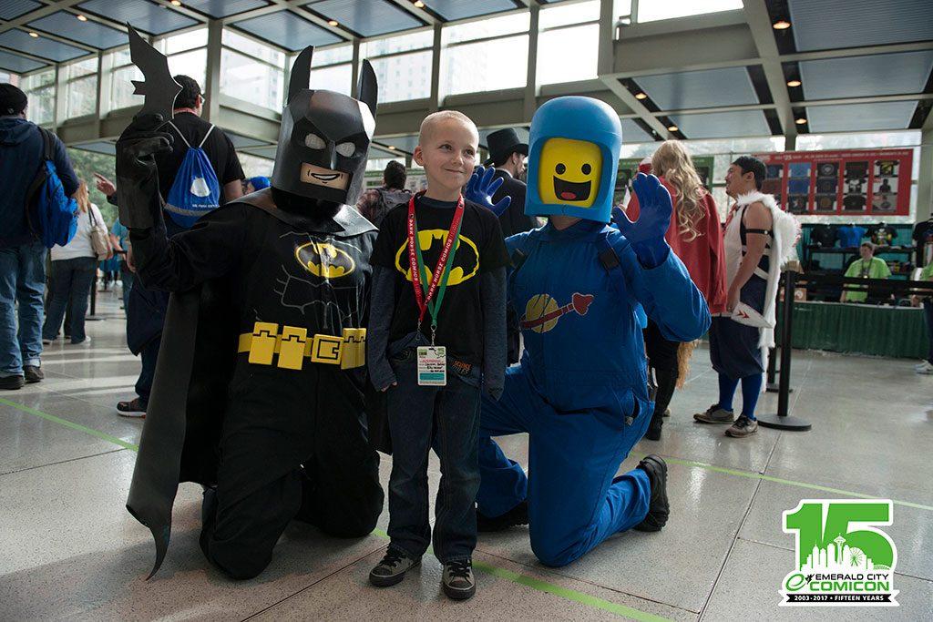 Comicon ECCC-2017-Cosplay-Lego-Batman