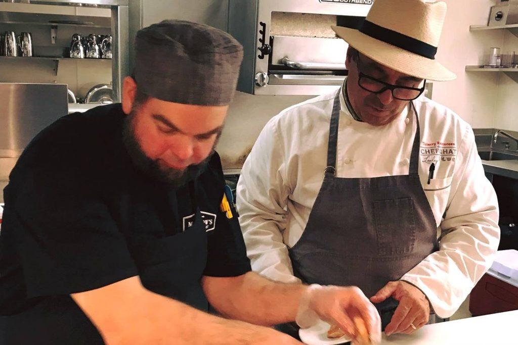 FareStart Guest Chef Thierry Rautureau with Apprentice D.J. November 1 2017