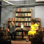 Author Jenny Forrester at Elliot Bay Bookstore Seattle