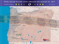 Where to see the Oregon total solar eclipse on August 21, 2017