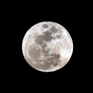 Full Moon close-up