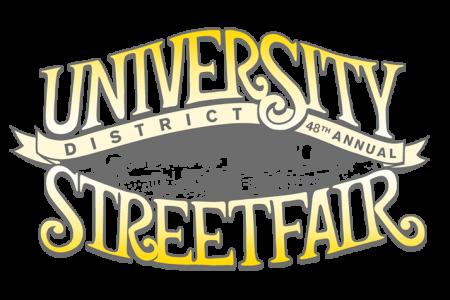 University District StreetFair logo