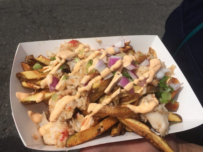 Ballard Seafood Fest lobster fries