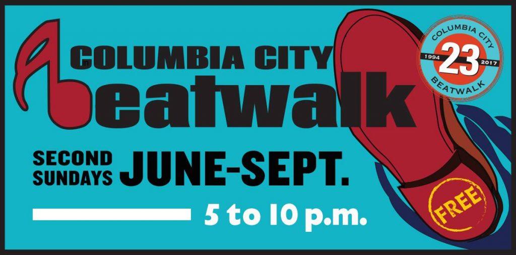 Columbia City Beatwalk logo