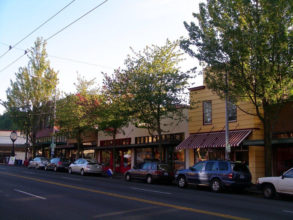 Enjoy walking tours in historic Seattle neigborhoods, including Columbia City along Rainier Avenue South