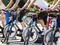 Free exercise bikes & spin classes in downtown Seattle