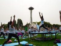 Free summer fitness classes at Seattle Center