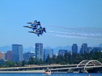Where to watch the Blue Angels for free during Seattle Seafair Weekend