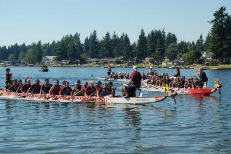 Kent Cornucopia Day dragon boat races
