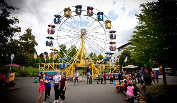Redmond Derby Days carnival rides