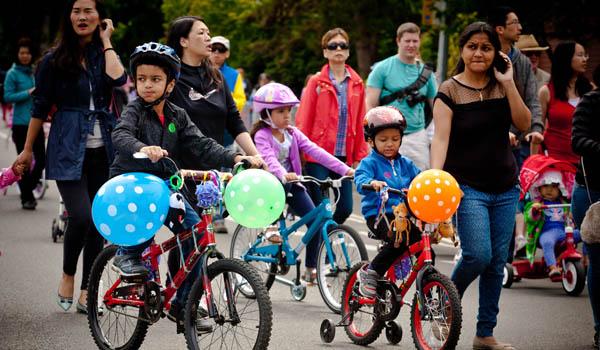 Redmond Derby Days kids parade