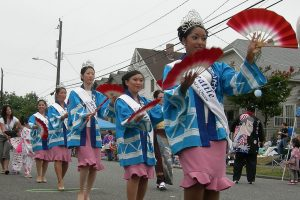 Seafair Seattle Bon Odori Festival Princessses 2007 photo by Joe Mabel