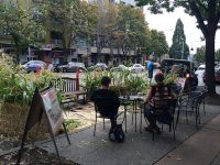 Seattle PARKing day parklet 2015