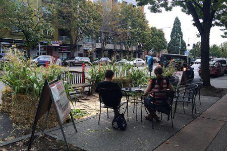 Seattle PARKing day parklet 2015