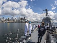 Ships Arrive In Seattle for Seafair Fleet Week