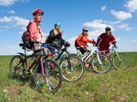 bicycle riding group - DepositPhotos.com