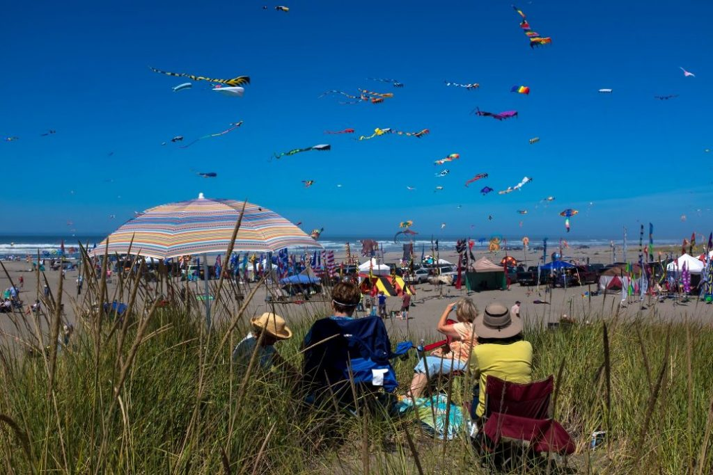 Long Beach Peninsula kite festival