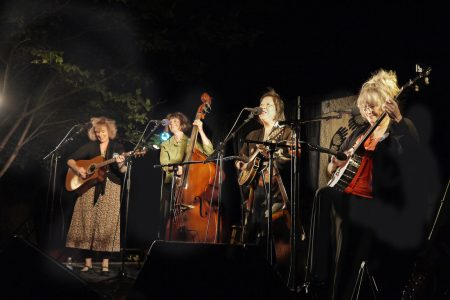 Tumbleweed Music Festival women singing group
