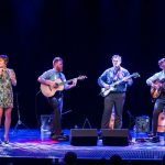 Earshot Jazz Seattle-born jazz vocalistSara Gazarekwith Los Angeles-based guitar trio New West Guitar Group