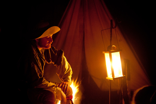 Fort Nisqually Candelight Tour