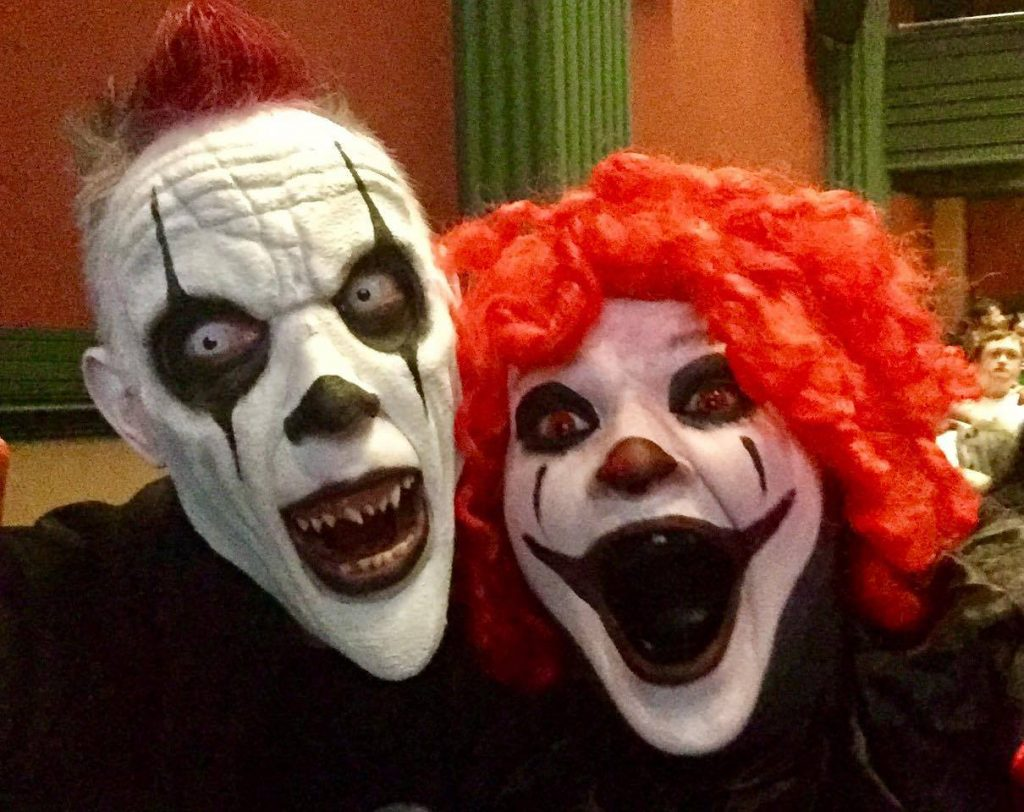 Nile NIghtmares haunted house clowns
