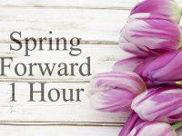 Spring Foreward 1 Hour photo by karenr - DepositPhotos.com
