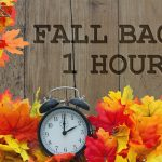 Fall back: daylight saving November 3, 2019