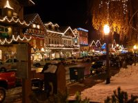 Getaways: festivals in Leavenworth, WA (120 miles east of Seattle)
