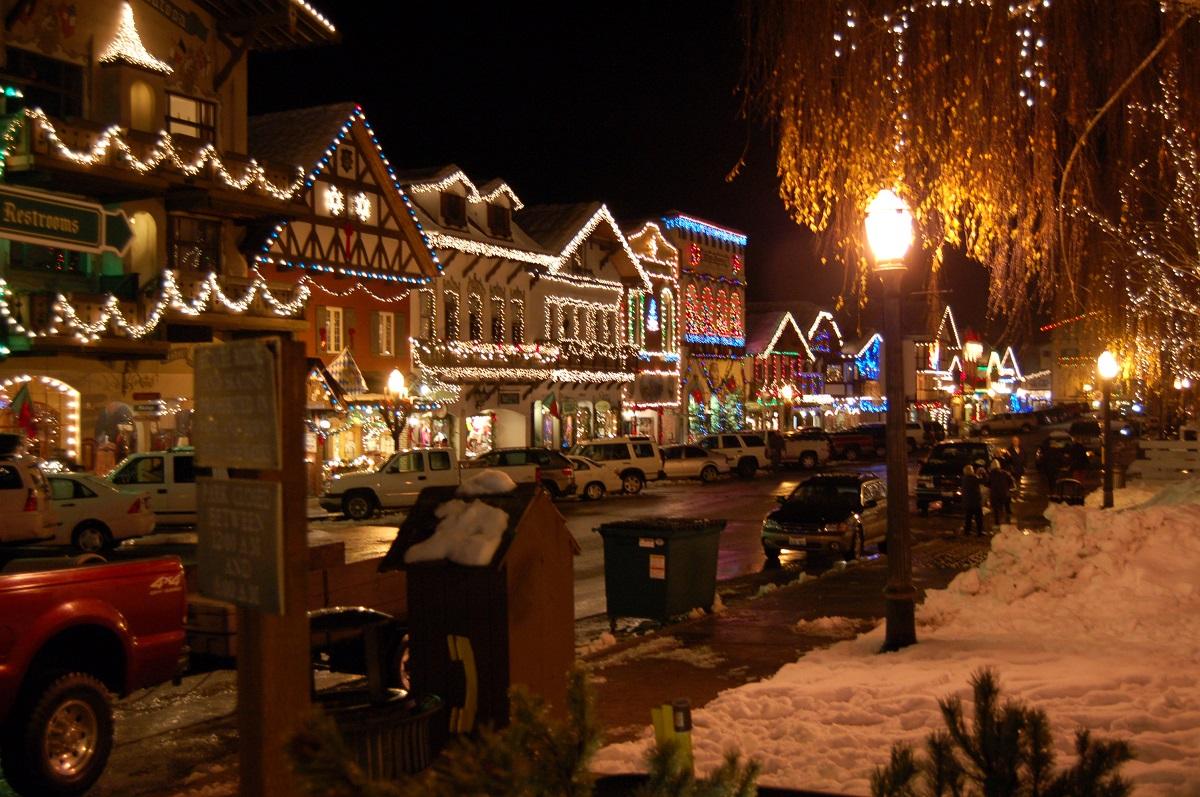 Leavenworth Washington Christmas Market 2020 Getaway: Annual festivals in Leavenworth (120 mi. E)   Greater