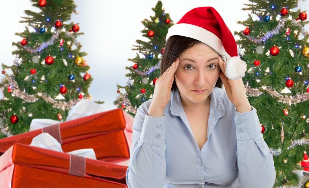 Christmas holiday stress