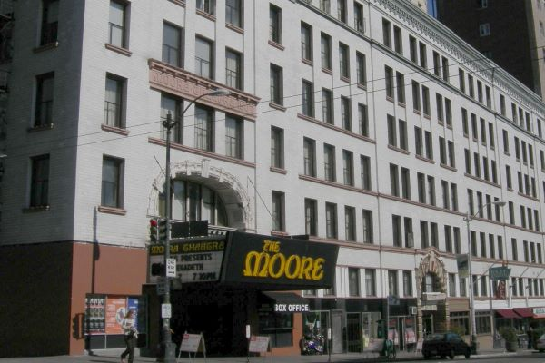 Moore Theatre and Hotel Seattle