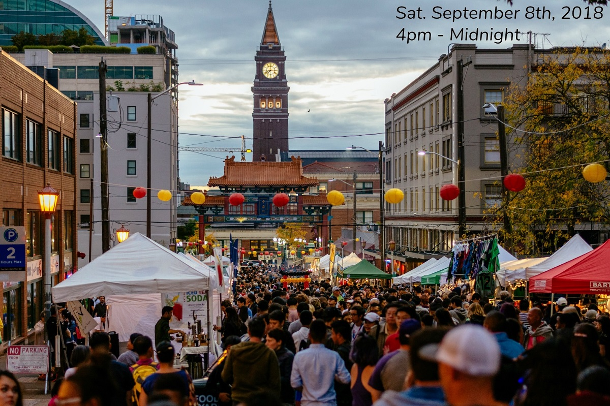 Cheap Gas Tacoma >> Free Night Market Festival in Seattle Chinatown ...