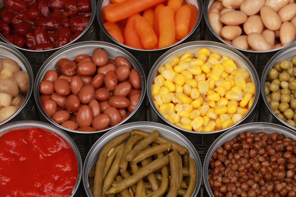 February is canned food month