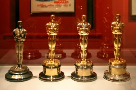 Katharine Hepburn's four Best Actress Academy Awards photo by Cliff (CC2)