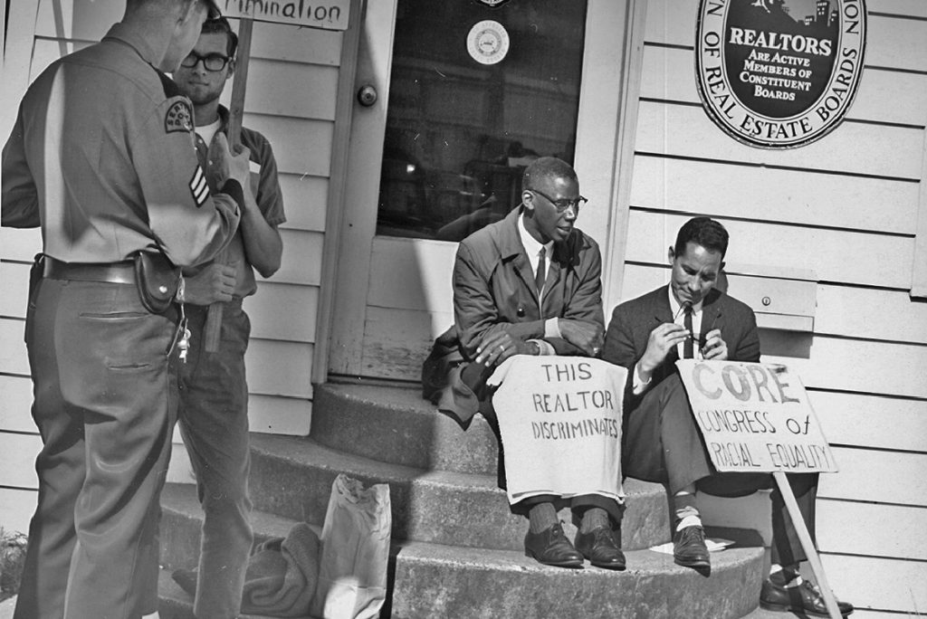 Seattle Fair Housing Protest 1964 (Seattle Municipal Archives)