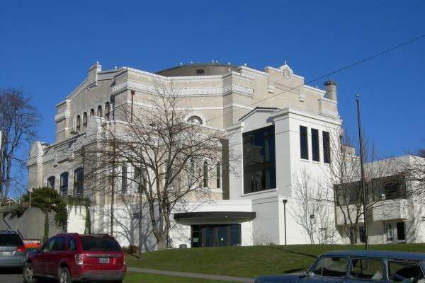 Langston Hughes Performing Arts Institute (SW view) 2007 photo by Joe Mabel (CC3)