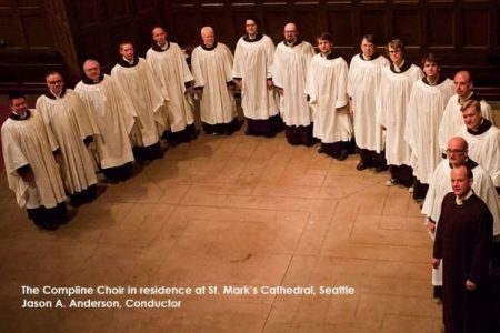Compline Choir at St. Mark's Cathedral Seattle