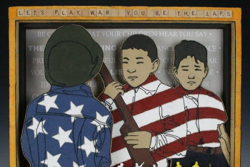Out of the Mouths of Babes, Jan Hopkins, Japanese American Interment Series 2015