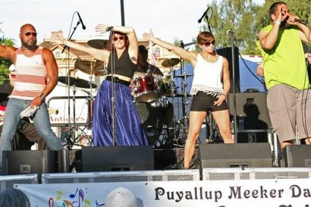 Puyallup Meeker Days festival stage