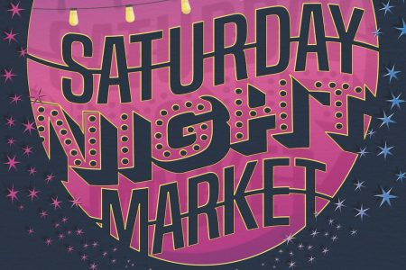 Saturday Night Market poster