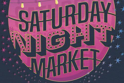 South Lake Union Night Market poster