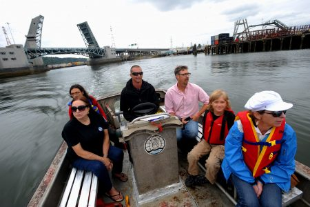 Duwamish River Festival Water Taxi 2009 (EPA photo)