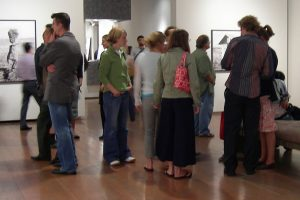 Seattle Greg Kucera gallery first Thursday art walk photo by Joe Mabel (CC3)