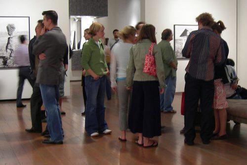 Seattle Greg Kucera gallery first Thursday art walk photo by Joe Mabel (CC3)