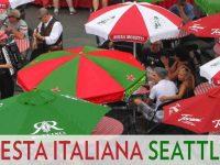 Seattle Italian festival at Seattle Center