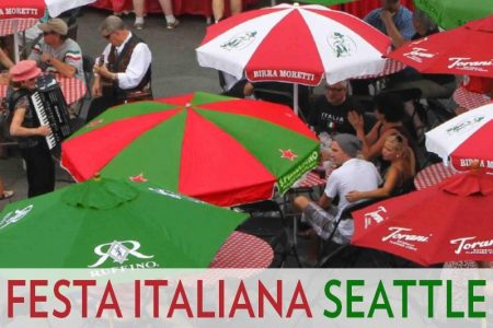 Seattle Italian festival at Seattle Center
