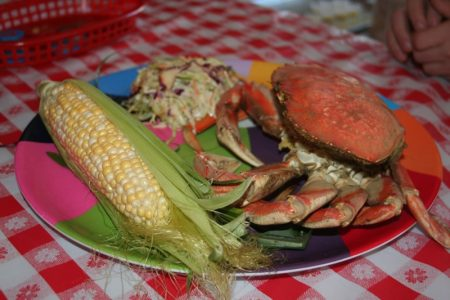 Crab fest in Port Angeles