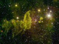 Spider Nebula (NASA, JPL-Caltech, 2MASS)