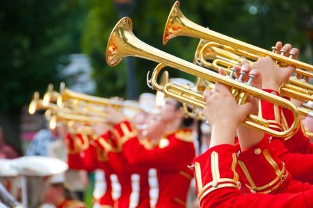 Parade marching band photo by toxawww - DepositPhotos.com