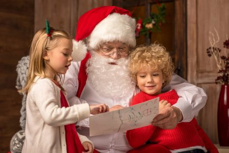 Depositphotos_131243818_l-2015 Children with Santa Claus photo by AlexNosenko